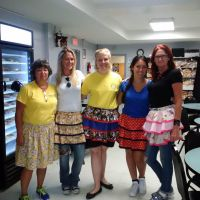 fancy aprons volunteer group pic