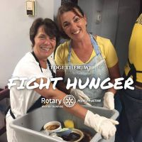 fight hunger volunteer bussers pic